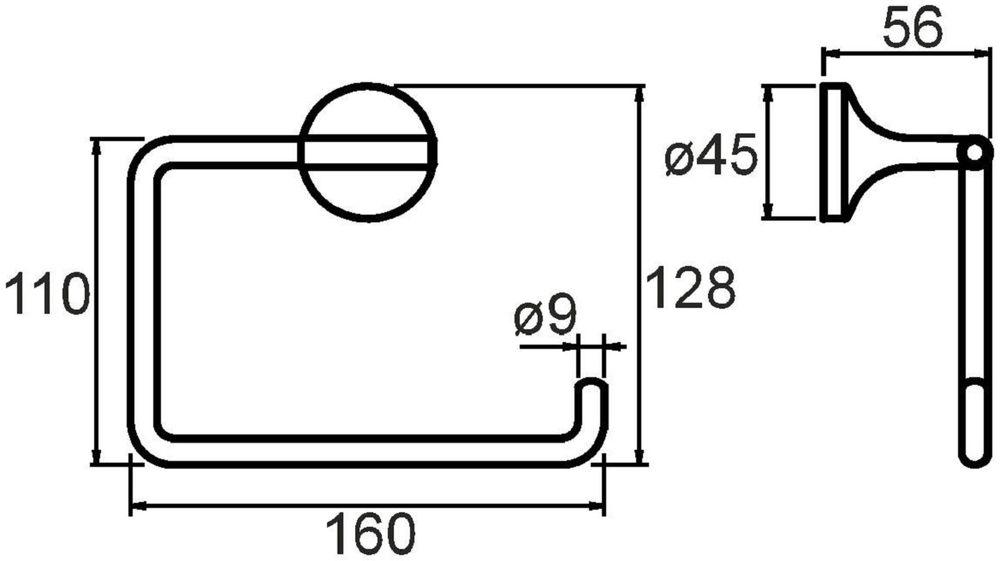 """Держатель туалетной бумаги """"Magellan"""" выполнен из прочного сплава металлов и имеет стойкое  никель-хромовое покрытие.  Держатель поможет оформить интерьер в выбранном стиле, разбавляя пространство туалетной  комнаты различными элементами. Он хорошо впишется в любой интерьер, придавая ему черты  современности.  Крепеж в комплекте."""