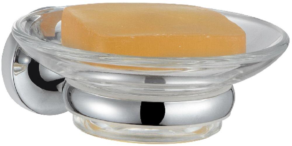 Мыльница настенная Milardo MagellanMAGSMG0M42Держатель мыльницы Magellan выполнена из прочного сплава металлов, имеет стойкое никель-хромовое покрытие, уплотнительная прокладка надежно фиксирует мыльницу в держателе. В комплекте удобный и надежный крепеж.