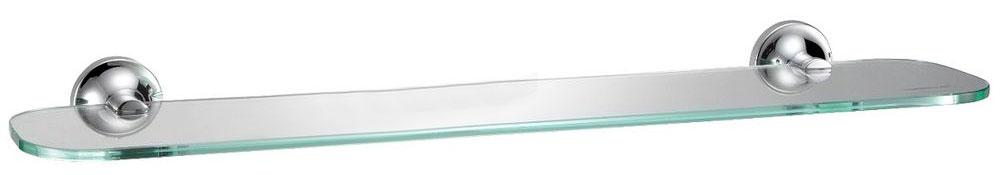 Полка для ванной комнаты Milardo Magellan, стекляннаяMAGSMG0M44Полка Magellan выполнена из прочного сплава металлов со стойким никель-хромовым покрытием и закаленного стекла, устойчивого к нагрузке и повреждениям.