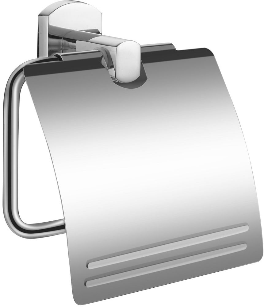 Держатель для туалетной бумаги Milardo Neva держатель для туалетной бумаги milardo amur хром amusmc0m43