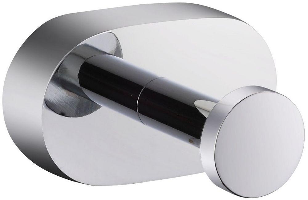 Крючок одинарный Milardo SolomonSOLSM10M41Крючок выполнен из прочного сплава металлов, имеет стойкое никель-хромовое покрытие. В комплекте удобное и надежное крепление.