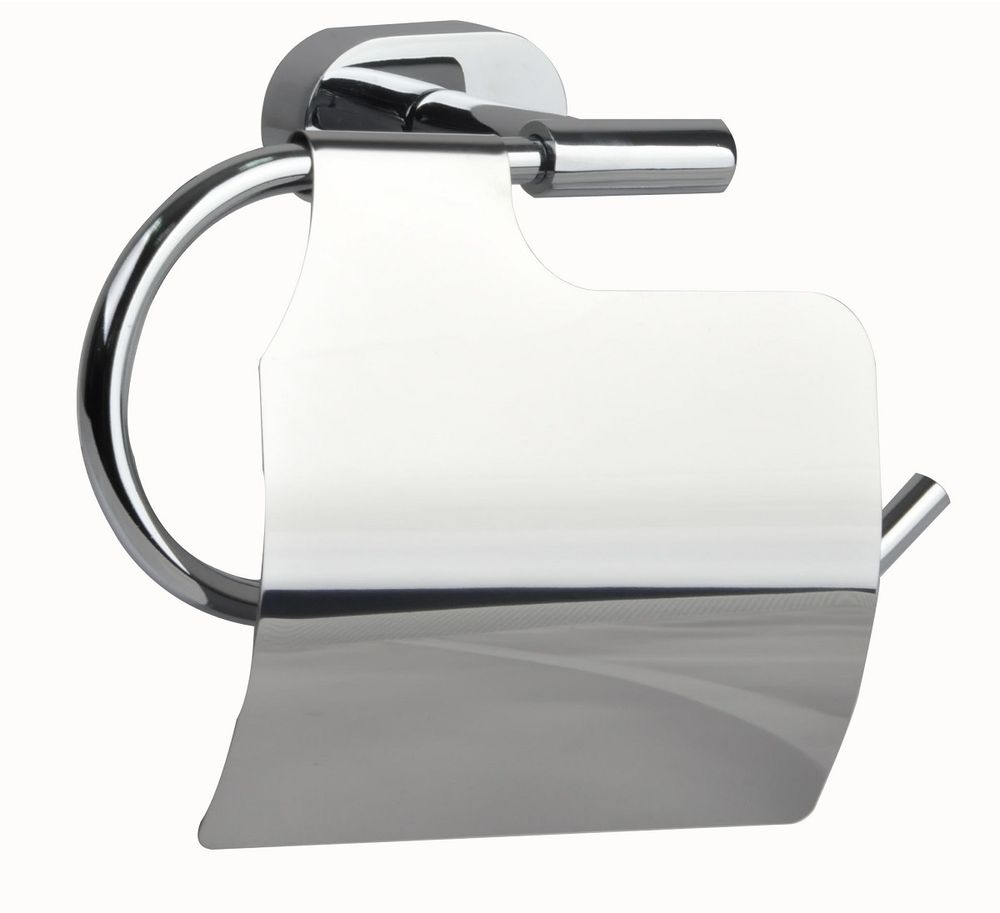 """Держатель туалетной бумаги """"Solomon"""" выполнен из прочного сплава металлов и имеет стойкое  никель-хромовое покрытие.  Держатель поможет оформить интерьер в выбранном стиле, разбавляя пространство туалетной  комнаты различными элементами. Он хорошо впишется в любой интерьер, придавая ему черты  современности.  Крепеж в комплекте."""