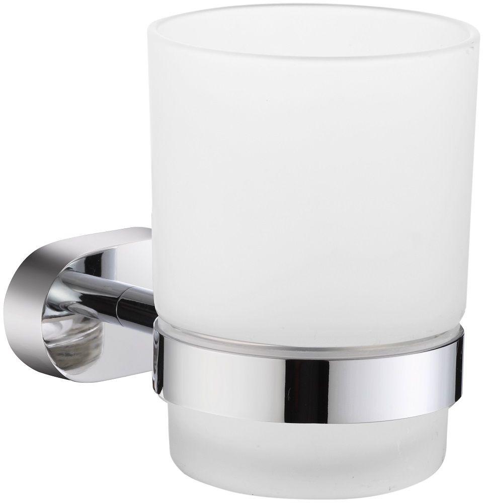 Стакан для зубных щеток Milardo SolomonSOLSMG0M45Держатель стакана для зубных щеток Solomon выполнен из прочного сплава металлов, имеет стойкое никель-хромовое покрытие, уплотнительная прокладка надежно фиксирует стакан в держателе. В комплекте удобный и надежный крепеж.