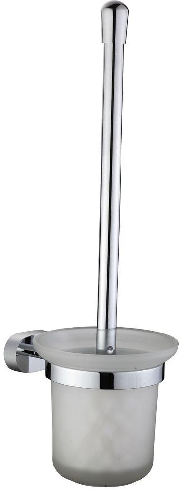 Ерш настенный Milardo SolomonSOLSMG0M47Ершик туалетный Solomon выполнен из высококачественной латуни и матового стекла, имеет стойкое никель-хромовое покрытие, пластиковая проставка надежно фиксирует колбу дозатора в держателе. Крепеж в комплекте.
