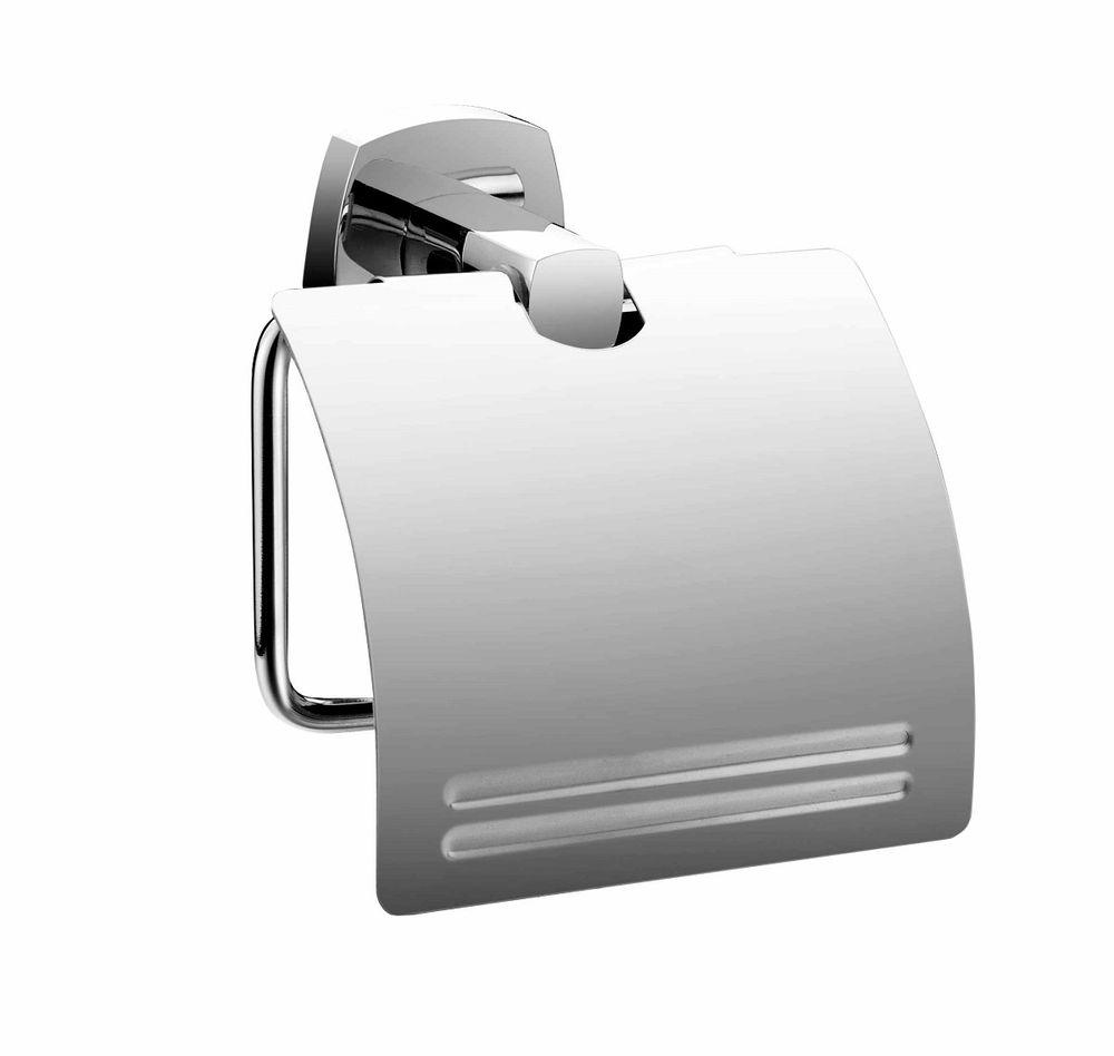 Держатель для туалетной бумаги Milardo VolgaVOLSMC0M43Держатель туалетной бумаги Volga выполнен из прочного сплава металлов и имеет стойкое никель-хромовое покрытие. Крепеж в комплекте.