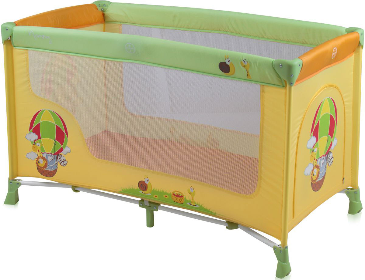 Lorelli Манеж-кроватка Nanny 1 цвет мультиколор -  Детская комната