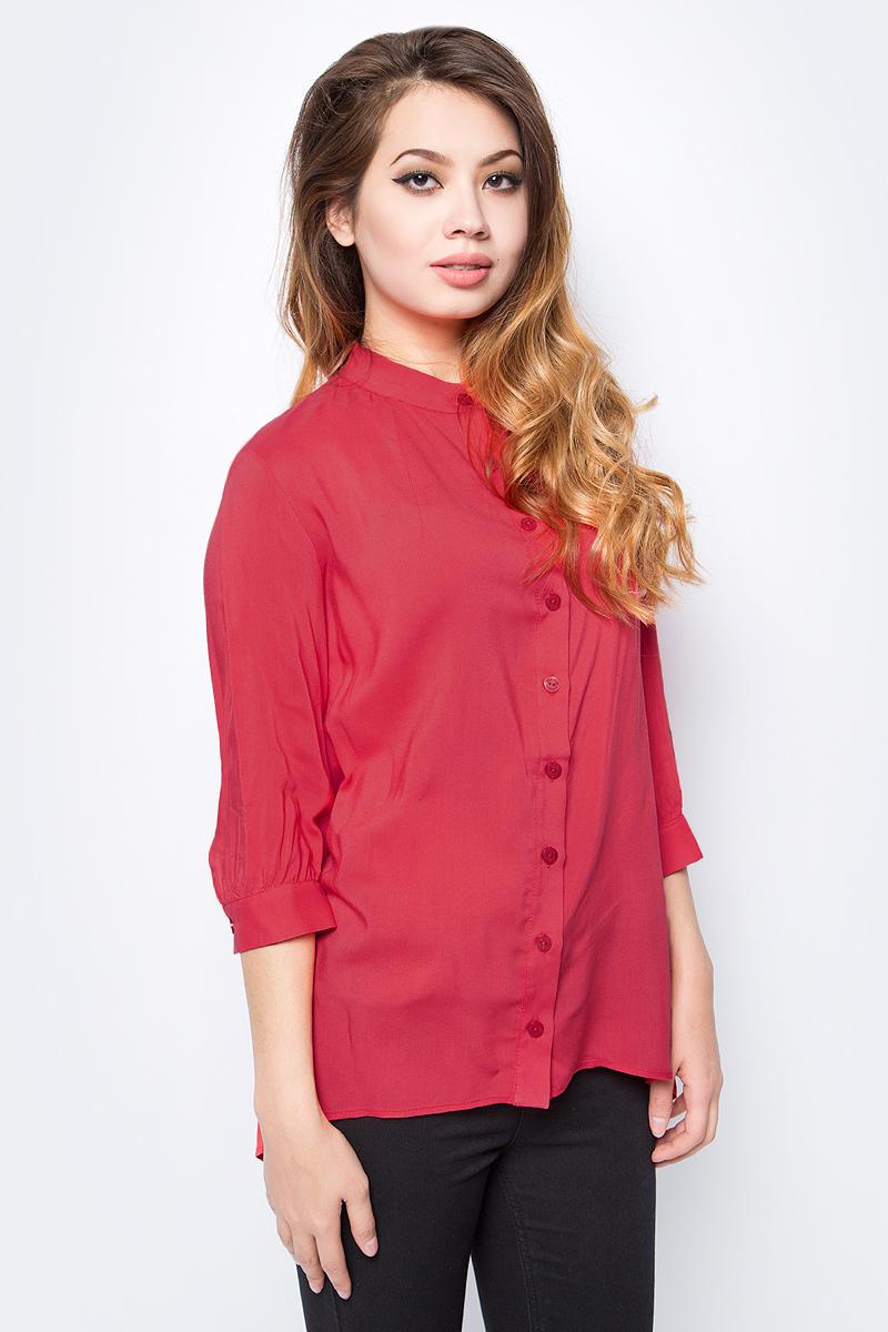 Блузка женская La Via Estelar, цвет: коралл. 33946-2. Размер 44