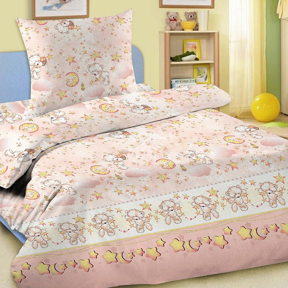Letto Комплект в кроватку Ясли с простыней на резинке BGR-16 -  Постельное белье