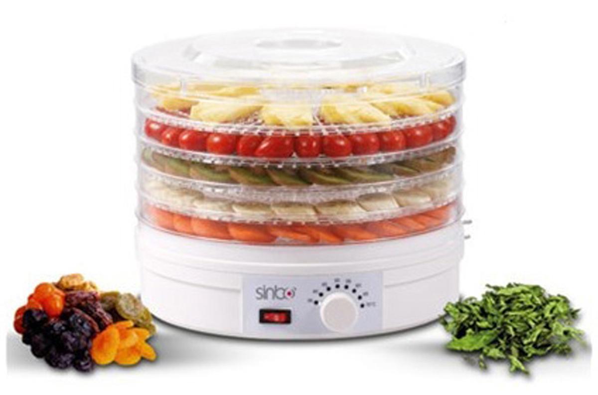 Сушка для фруктов и овощей Sinbo SFD 7401 5под. 250Вт белый