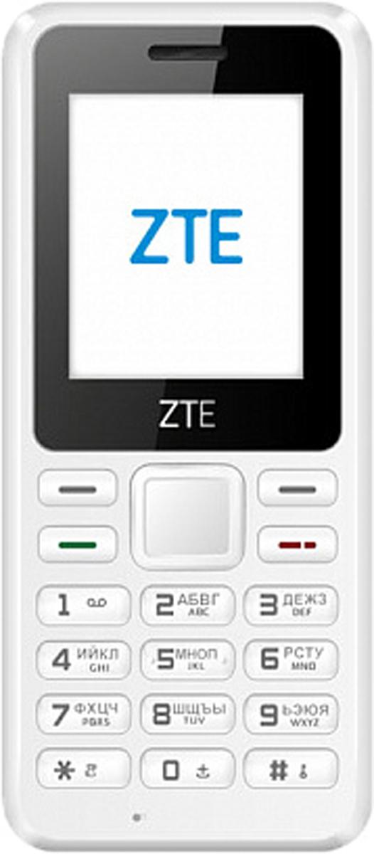 Мобильный телефон ZTE R538, White телефон dect gigaset l410 устройство громкой связи