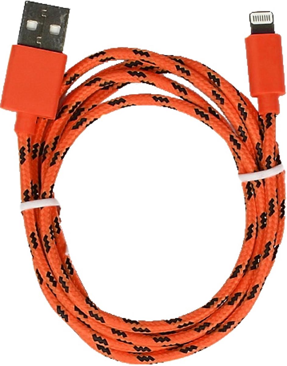 Smartbuy iK-512n, Red дата-кабель USB-8-pin (1,2 м) дата кабель smartbuy usb 30 pin для apple магнитный длина 1 2 м фиолетовый ik 412m purple 500
