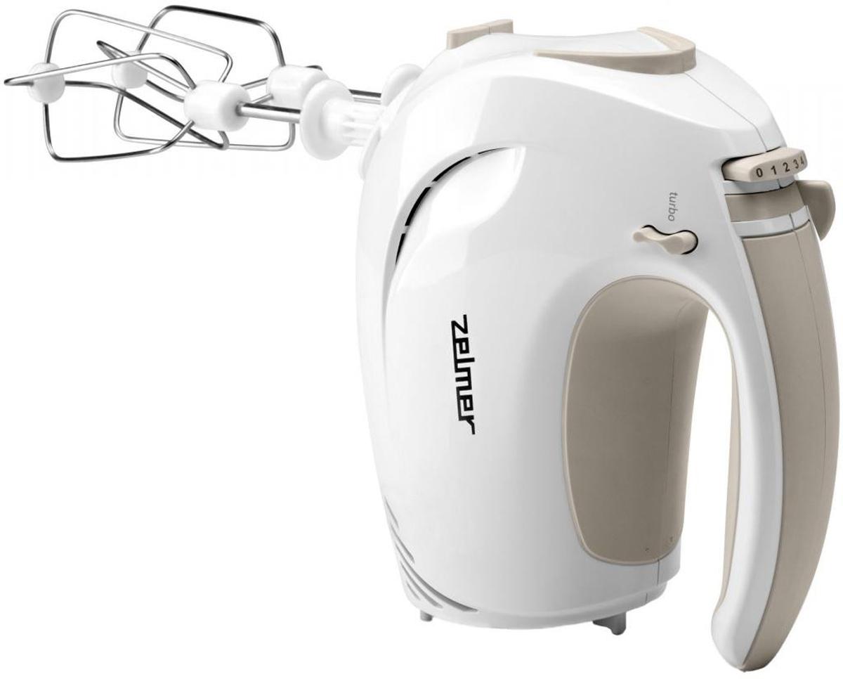 Zelmer ZHM1205S, White миксер ручнойZHM1205SМиксер ручной Zelmer ZHM1205S 400Вт белый