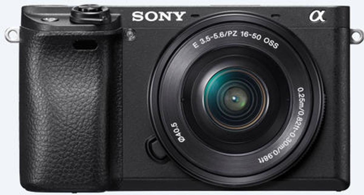 Sony Alpha A6300 Kit 16-50 mm, Black цифровая фотокамера