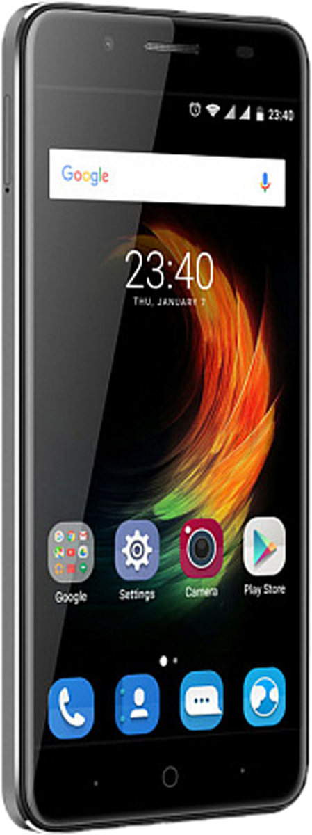 ZTE Blade A610 Plus, GrayZTE-BLADE.A610P.GRZTE Blade A610 Plus - представитель одного из самых востребованных сегментов среди смартфонов.Смартфон может похвастаться огромной емкостью батареи – 5000 мАч, что позволит вам совершать звонки, пользоваться интернетом, читать,фотографировать и делиться информацией с друзьями в течение нескольких дней без дополнительной подзарядки.Наличие большого 5-дюймового HD-дисплея с разрешением 1920x1080, выполненного по технологии IPS, предоставляет возможностьпользователю комфортно просматривать интернет-страницы, читать электронные книги и смотреть медиа-контент без потери качестваизображения и цветопередачи.Поддержка в смартфоне технологии On-The-Go и повышенная емкость батареи предоставляет вам возможность не только самому наслаждатьсябеспрерывной работой смартфона, но и подзаряжать от него внешние устройства, такие как музыкальный плеер, электронная книга, планшет имногое другое, а также подключать напрямую внешние накопители и копировать данные.Смартфон работает на базе новой операционной системы Android 6.0, которая получила ряд функций, играющих важнейшую роль в работесмартфона – оптимизаторы энергопотребления, расширенные возможности безопасности, обновленный интерфейс и др.Восьмиядерный процессор MediaTek MT6750Т и 2 ГБ оперативной памяти обеспечивают скорость в обработке повседневных задач и плавнуюработу приложений и игрового процесса.Основная камера 13 Мпикс, оснащенная вспышкой, позволит вам делать отличные снимки даже при низком освещении, а наличие фронтальнойкамеры с разрешением 8 Мпикс, оценят поклонники качественных селфи и любители видеозвонков.Наличие в смартфоне технологии 4G LTE значительно увеличивает скорость и качество мобильного интернета, позволяя всегда оставатьсяонлайн и комфортно взаимодействовать с интернет-ресурсами.Смартфон обладает слотом для установки двух сим-карт – разделяйте личные и рабочие звонки, выбирайте удобные тарифы в поездках ипользуйтесь интернетом независимо от вашего места нахождения
