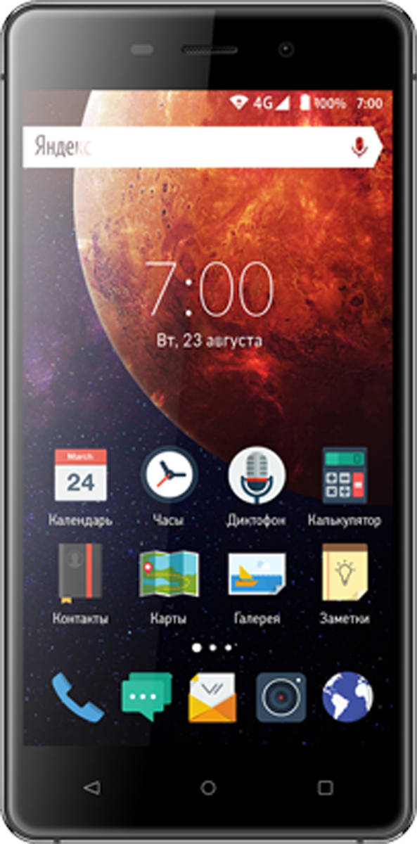 Vertex Impress Mars, Black - Смартфоны