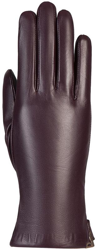 Перчатки женские Eleganzza, цвет: сливовый. IS953. Размер 7