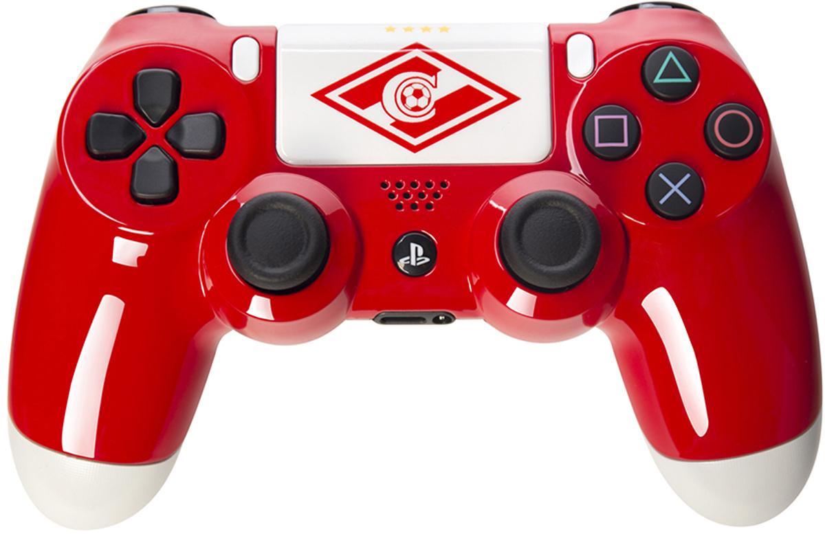 Sony DualShock 4  Красно-белый  беспроводной контроллер для PS4 - Геймпады, джойстики, рули