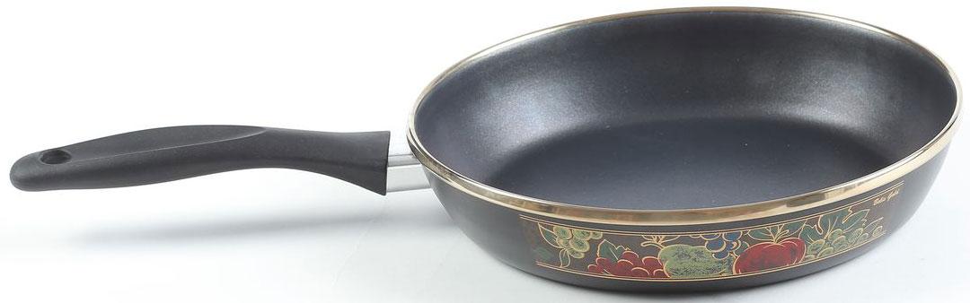 Сковорода Belis Голд, с керамическим покрытием. Диаметр 24 см57424-320DHDE5Cковородка Голд. Толщина металла: 2 мм. Сковорода с тефлоновым покрытием + внешняя деколь серии Голд.