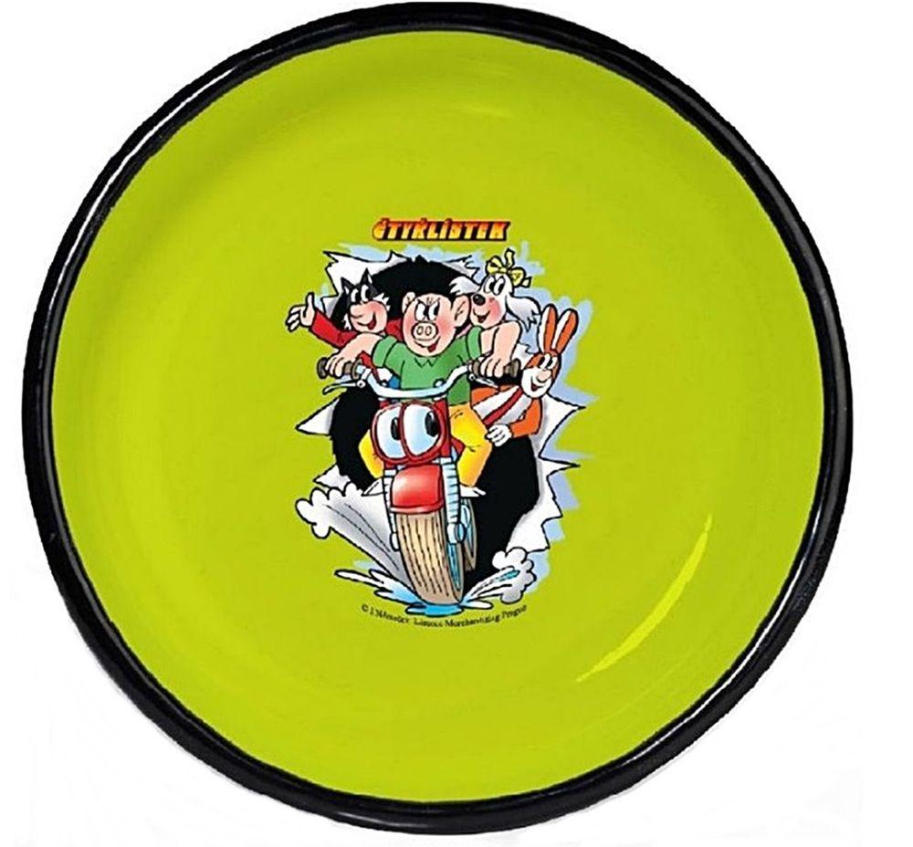 Тарелка эмалированная Belis Мото, диаметр 20 см