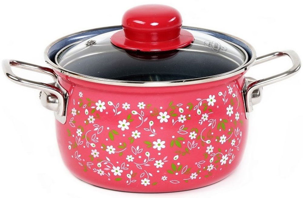 Кастрюля Belis  Романс  с крышкой, 2,8 л - Посуда для приготовления