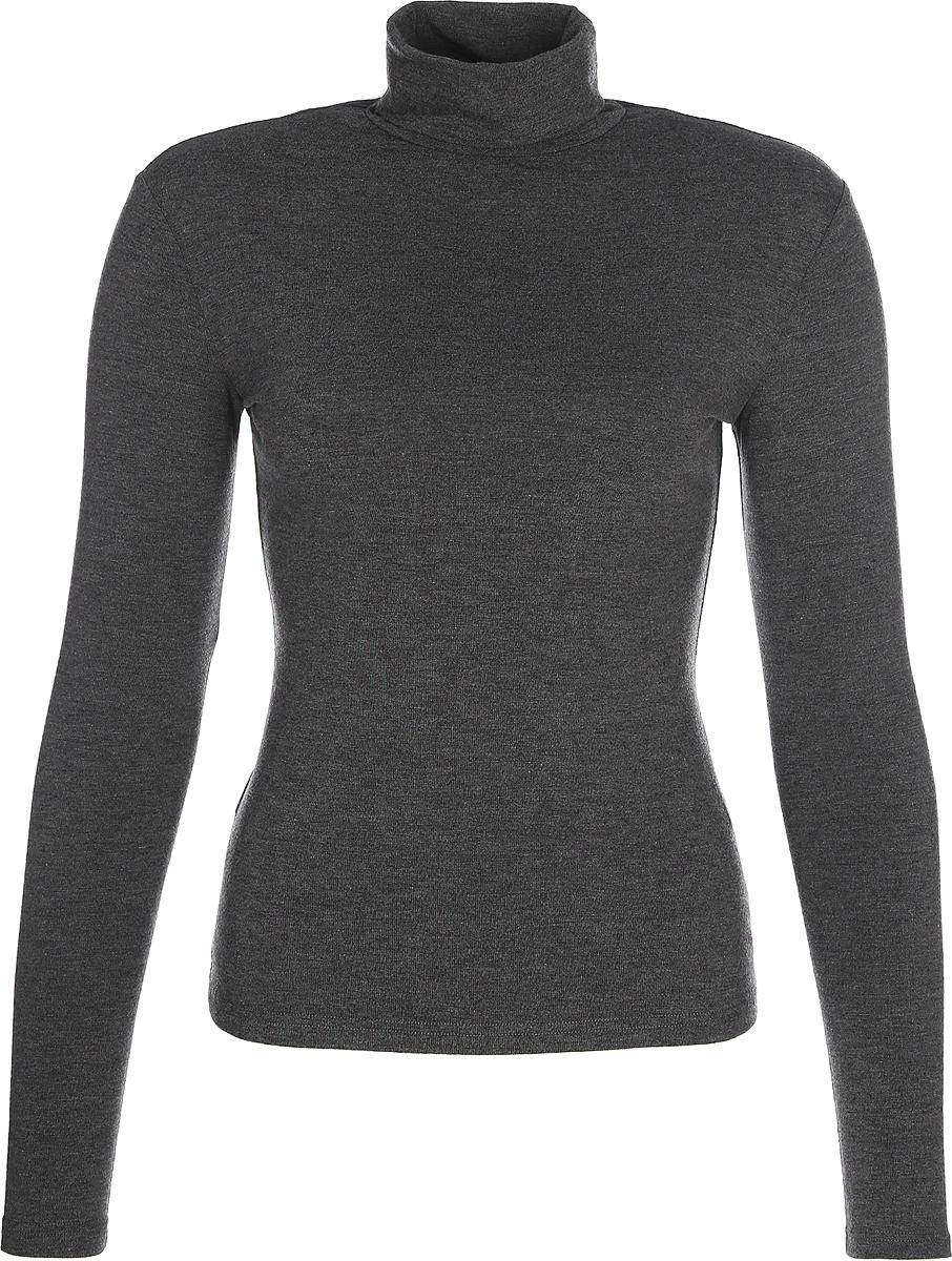 Водолазка женская La Via Estelar, цвет: серый. 33949-5. Размер 48 платье la via estelar цвет фиолетовый 14672 2 размер 48