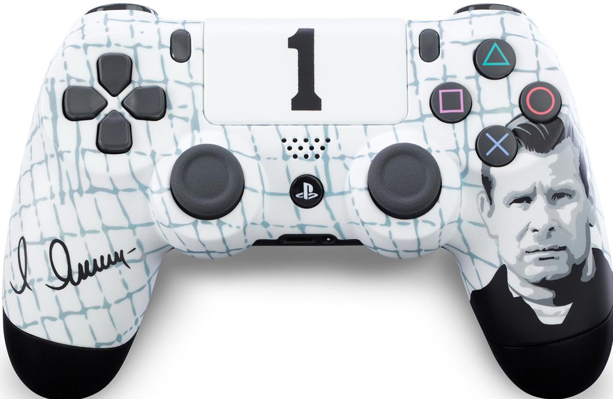 Sony DualShock 4  Динамо. Черный паук  геймпад для PS4 - Геймпады, джойстики, рули