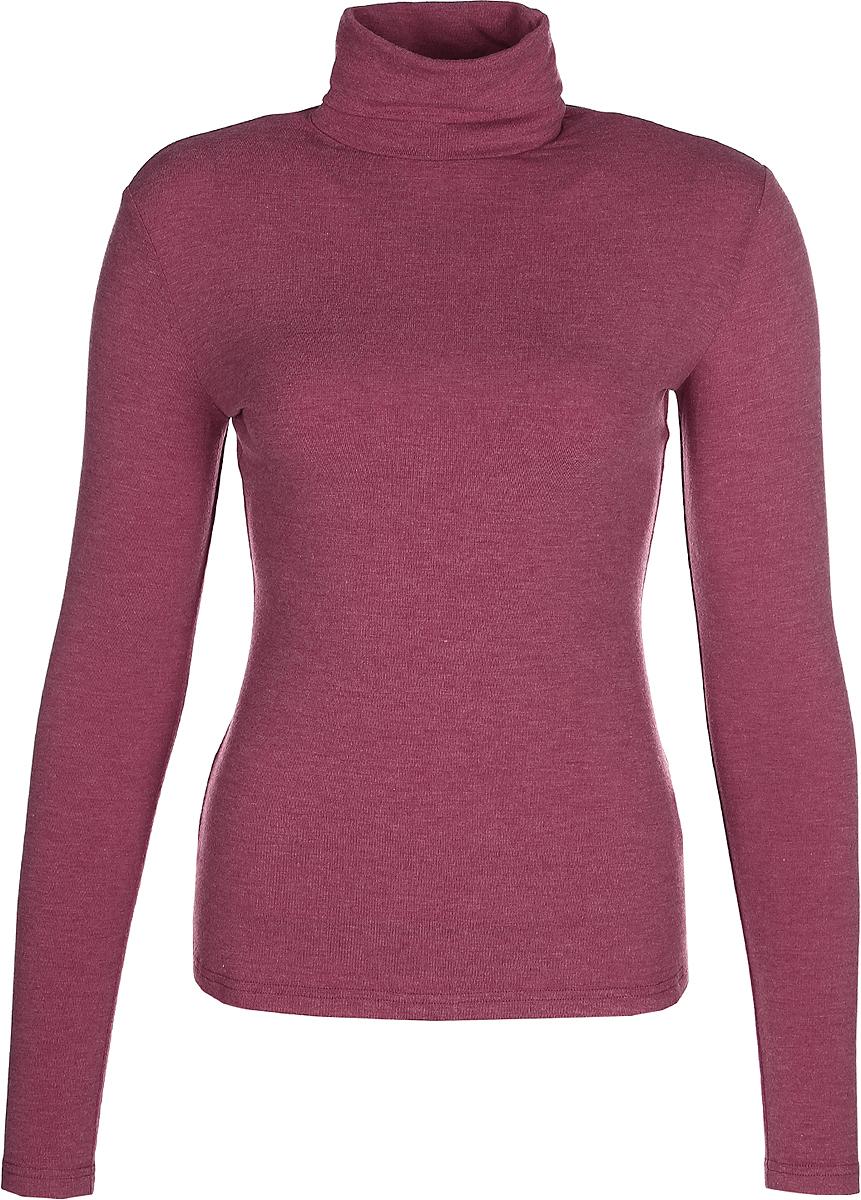 Водолазка женская La Via Estelar, цвет: бордовый. 33949-4. Размер 44 водолазка женская pettli collection цвет красный 14514 размер 50 52