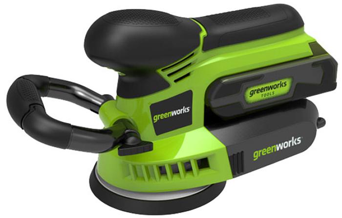 Машина шлифовальная аккумуляторная Greenworks 24V 3100107 шлифовальная машина forsage os1011 240p