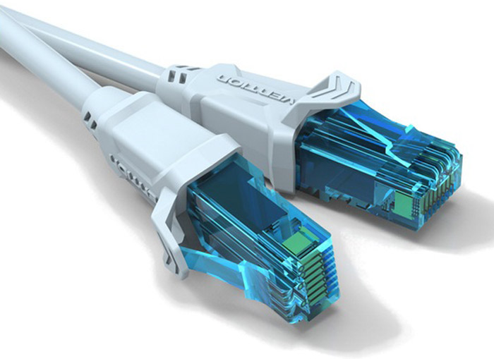 Vention UTP cat.5е RJ45, Grey патч-корд (1 м)VAP-A10-S100Сетевой кабель предназначен для коммутации компьютерных Ethernet-сетей со стандартами 10BASE-T (10 Мбит/сек), 100BASE-T(x) (100 Мбит/сек), 1000BASE-T(x) (1 Гбит/сек). Для предотвращения электромагнитных помех и шумов, каждая жила защищена дополнительной изоляцией из сверхвысокомолекулярного полиэтилена высокой прочности (HDPE).Продукция соответствует следующим сертификатам: RoHS, CE, FCC, TIA, ISOТип разъема: RJ45 M / RJ45 MСовместимость: Ethernet RJ45(8p8c) - Cat. 5/5e/6/7 Пропускная способность интерфейса: до 100 Мбит/сек. Тип оболочки: ПВХ + HDPE Количество жил: 8 Сечение жилы: 26 AWG Длина (м): 1