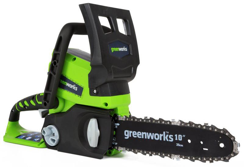Цепная пила аккумуляторная Greenworks, 24V 2000007 -  Садовая техника