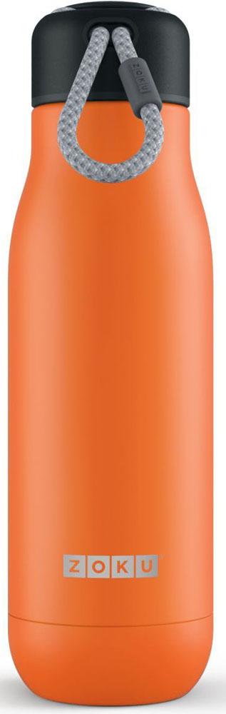 Двойные вакуумные стенки  Вакуум и толстые стенки из нержавеющей стали поддерживают температуру горячих напитков  до 12, а холодных – до 40 часов, поэтому любимые напитки всегда будут доступны в течение  дня. При этом бутылку можно спокойно держать в руках без риска обжечься.    Гигиеничное горлышко  Узкое горлышко создано специально для питья, вам не потребуются дополнительные стаканы  или емкости. Гладкая полированная поверхность легко очищается за считанные секунды и не  накапливает на себе бактерии и грязь благодаря тому, что резьба для крышки спрятана внутри.  Даже если вы находитесь на активном отдыхе или занимаетесь спортом, ваша бутылка всегда  остается чистой и гигиеничной.   Паракорд для переноски  Шнур на крышке бутылки называется «паракордом» и позволяет вам брать её с собой, куда бы  вы ни направлялись: держите её в руках, несите за ремешок или же прикрепите к снаряжению.  Шнур легко вынимается при необходимости, просто потяните защитную крышку вверх.    Нержавеющая сталь   Высокое качество нержавеющей стали 18/8 делает термобутылку особенно прочной: она  устойчива к коррозии, не разрушается и не впитывает запахи. Бутылка будет служить долго и  не потребует замены деталей. Используемая сталь полностью пригодна для пищевых  продуктов, не содержит фталатов и бисфенола-А.    Открывается одним движением  Чтобы закрутить или открутить крышку, достаточно всего одного оборота, что очень удобно,  если вы на ходу или за рулем. Крышка с силиконовой вставкой полностью герметична, поэтому  бутылку можно смело убрать в рюкзак, чемодан или сумку, не боясь, что ее содержимое  прольется.   Стильный дизайн  Привлекательный внешний вид, яркие цвета и качественные материалы делают эту  термобутылку идеальным компаньоном для активных и следящих за своим здоровьем людей.  Она подчеркнет ваш имидж и добавит ему ярких акцентов. Берите её с собой на прогулки, в  спортзал и в любое путешествие, не боясь, что ваши напитки его не выдержат.   Объем термобутылки – 500 мл. Моется вр