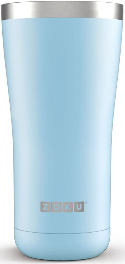 Термокружка Zoku Hydration, цвет: голубой, 550 млZK144-LBВакуум и толстые вакуумные стенки из нержавеющей стали поддерживают температуру горячих напитков до 6, а холодных - до 24 часов, поэтому любимые напитки всегда будут доступны в течение дня. При этом кружку можно спокойно держать в руках, без риска обжечься.Крышка 3-в-1 3 положения крышки гарантируют вам максимальный комфорт независимо от того, где вы находитесь - дома, в офисе или где-то в дороге на улице. Поверните крышку против часовой стрелки, чтобы пить небольшими глотками из отверстия, или по часовой стрелке, чтобы наслаждаться лимонадом через трубочку по пути на работу. В среднем положении крышка полностью закрыта. Открывается одним движением Крышка защищает напитки от пыли и различных загрязнений, а чтобы вытащить её из термокружки, например, при мытье не нужно крутить, поворачивать или с силой выдергивать - просто потяните за язычок вверх. Стильный дизайн Привлекательный внешний вид, насыщенные цвета и качественные материалы делают эту термокружку идеальным компаньоном для активных и следящих за своим здоровьем людей. Она подчеркнет ваш имидж и добавит ему ярких акцентов.Нержавеющая сталь Высокое качество нержавеющей стали 18/8 делает термокружку особенно прочной: она устойчива к коррозии, не разрушается и не впитывает запахи. Кружка будет служить долго и не потребует замены деталей. Используемая сталь полностью пригодна для пищевых продуктов, не содержит фталатов и бисфенола-А. Объем термокружки – 550 мл. Моется вручную.
