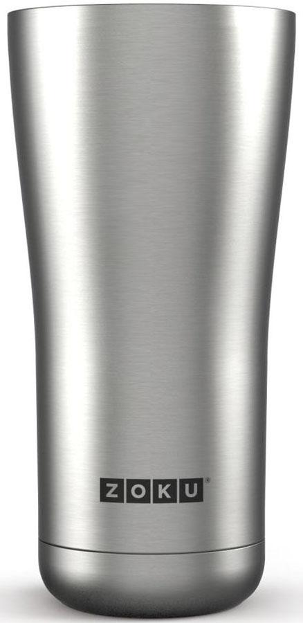 Термокружка Zoku Hydration, цвет: металлик, 550 млZK144-SSДвойные вакуумные стенкиВакуум и толстые стенки из нержавеющей стали поддерживают температуру горячих напитков до 6, а холодных – до 24 часов, поэтому любимые напитки всегда будут доступны в течение дня. При этом кружку можно спокойно держать в руках без риска обжечься. Крышка 3-в-13 положения крышки гарантируют вам максимальный комфорт, независимо от того, где вы находитесь – дома, в офисе или где-то в дороге на улице. Поверните крышку против часовой стрелки, чтобы пить небольшими глотками из отверстия, или по часовой стрелке, чтобы наслаждаться лимонадом через трубочку по пути на работу. В среднем положении крышка полностью закрыта.Открывается одним движениемКрышка защищает напитки от пыли и различных загрязнений, а чтобы вытащить её из термокружки, например, при мытье не нужно крутить, поворачивать или с силой выдергивать – просто потяните за язычок вверх. Стильный дизайнПривлекательный внешний вид, насыщенные цвета и качественные материалы делают эту термокружку идеальным компаньоном для активных и следящих за своим здоровьем людей. Она подчеркнет ваш имидж и добавит ему ярких акцентов. Нержавеющая сталь Высокое качество нержавеющей стали 18/8 делает термокружку особенно прочной: она устойчива к коррозии, не разрушается и не впитывает запахи. Кружка будет служить долго и не потребует замены деталей. Используемая сталь полностью пригодна для пищевых продуктов, не содержит фталатов и бисфенола-А. Объем термокружки – 550 мл. Моется вручную.