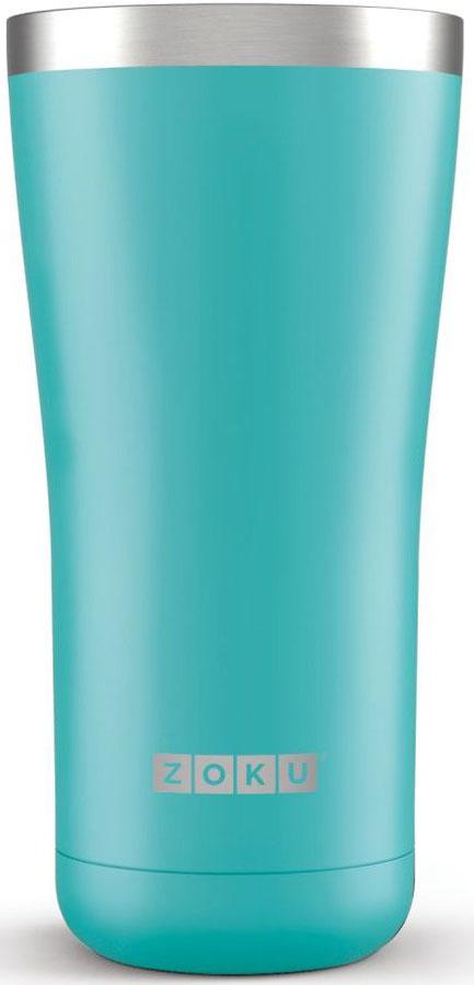 Термокружка Zoku Hydration, цвет: бирюзовый, 550 мл1869026Вакуум и толстые вакуумные стенки из нержавеющей стали поддерживают температуру горячих напитков до 6, а холодных - до 24 часов, поэтому любимые напитки всегда будут доступны в течение дня. При этом кружку можно спокойно держать в руках, без риска обжечься.Крышка 3-в-1 3 положения крышки гарантируют вам максимальный комфорт независимо от того, где вы находитесь - дома, в офисе или где-то в дороге на улице. Поверните крышку против часовой стрелки, чтобы пить небольшими глотками из отверстия, или по часовой стрелке, чтобы наслаждаться лимонадом через трубочку по пути на работу. В среднем положении крышка полностью закрыта. Открывается одним движением Крышка защищает напитки от пыли и различных загрязнений, а чтобы вытащить её из термокружки, например, при мытье не нужно крутить, поворачивать или с силой выдергивать - просто потяните за язычок вверх. Стильный дизайн Привлекательный внешний вид, насыщенные цвета и качественные материалы делают эту термокружку идеальным компаньоном для активных и следящих за своим здоровьем людей. Она подчеркнет ваш имидж и добавит ему ярких акцентов.Нержавеющая сталь Высокое качество нержавеющей стали 18/8 делает термокружку особенно прочной: она устойчива к коррозии, не разрушается и не впитывает запахи. Кружка будет служить долго и не потребует замены деталей. Используемая сталь полностью пригодна для пищевых продуктов, не содержит фталатов и бисфенола-А. Объем термокружки – 550 мл. Моется вручную.