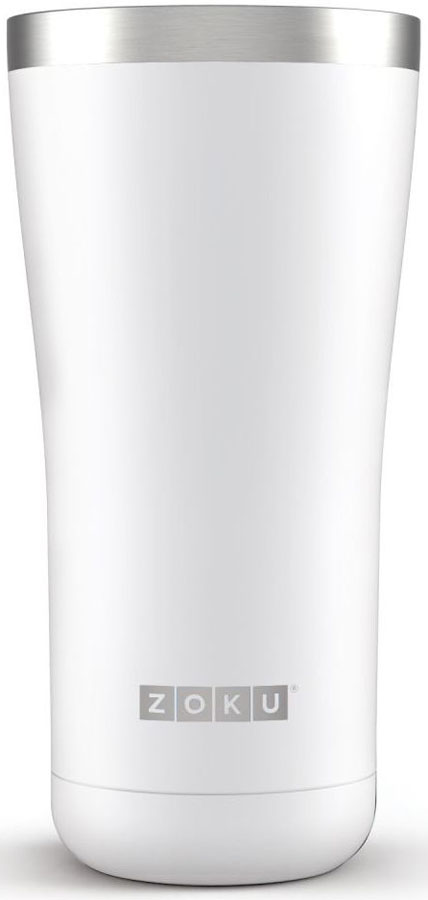 Термокружка Zoku Hydration, цвет: белый, 550 мл
