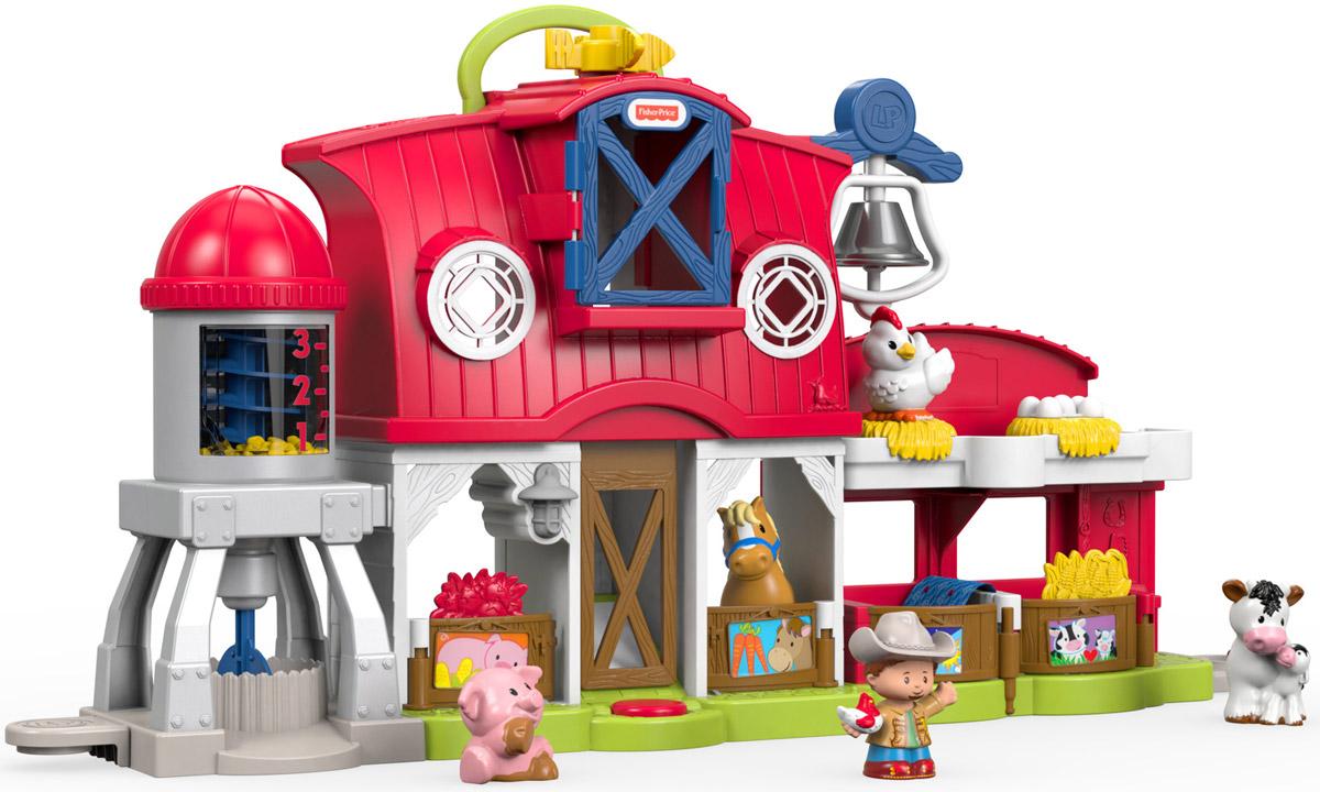 Little People Игровой набор Музыкальная ферма Заботимся о животных