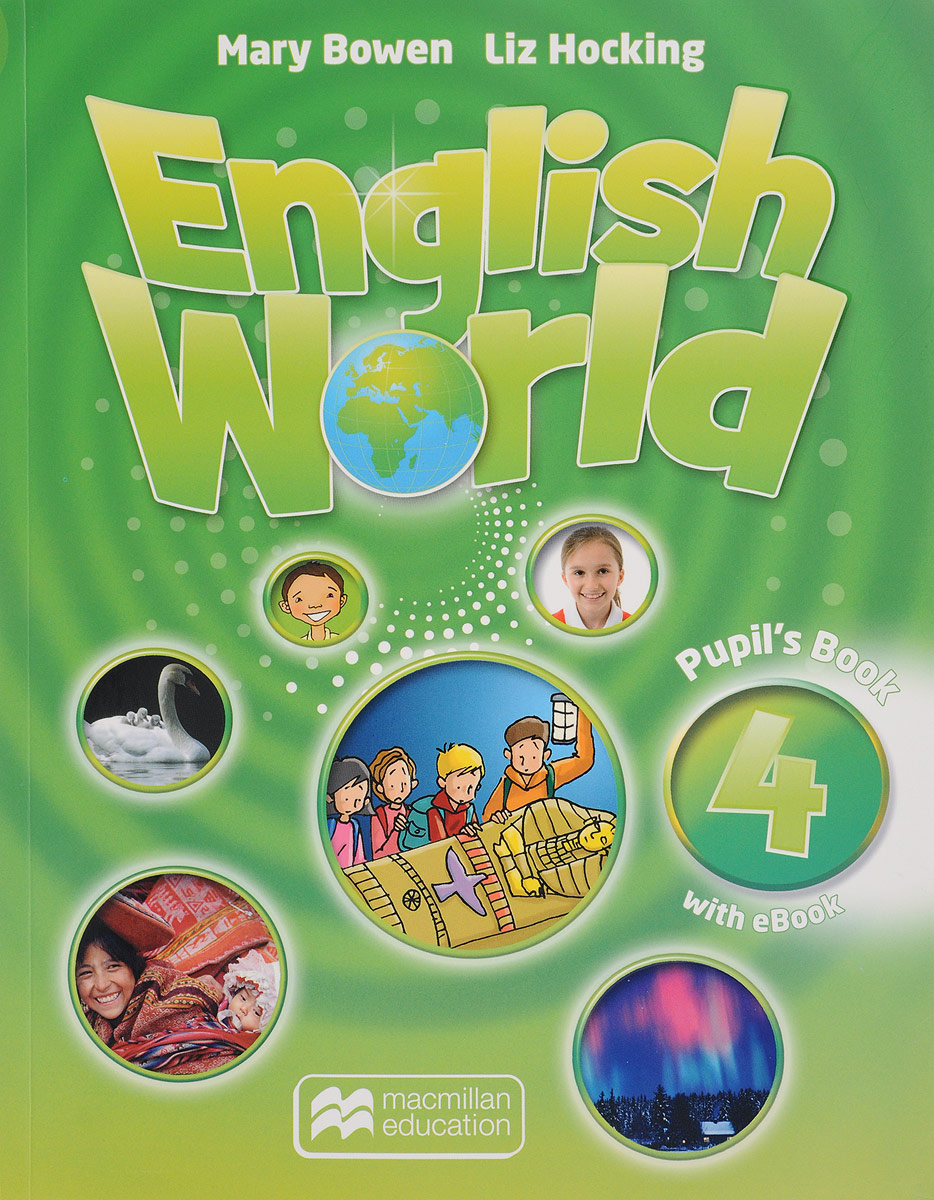 English World 4: Pupil's Book (+ CD-ROM) macmillan english 4 practice book cd rom