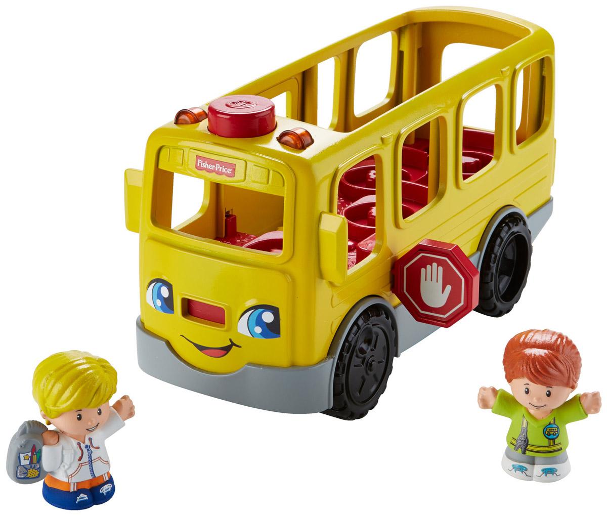 Little People Игровой набор Школьный автобус Дружба проездные на автобус где в москве