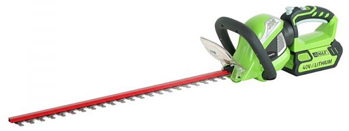 Кусторез аккумуляторный Greenworks 40V 2200907 кусторез g40ht61 40в greenworks tools 22637t