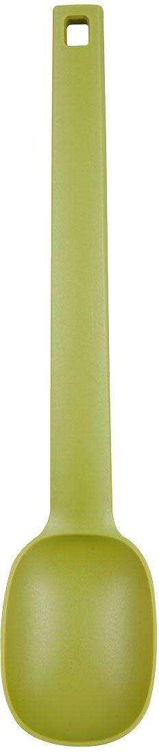 Ложка Miolla, длина 35,5 см1515113UЛожка Miolla выполнена из нейлона. Изделие не токсично, долговечно, не оставляет царапин на посуде, возможно использование в посудомоечной машине.Длина: 35,5 см.
