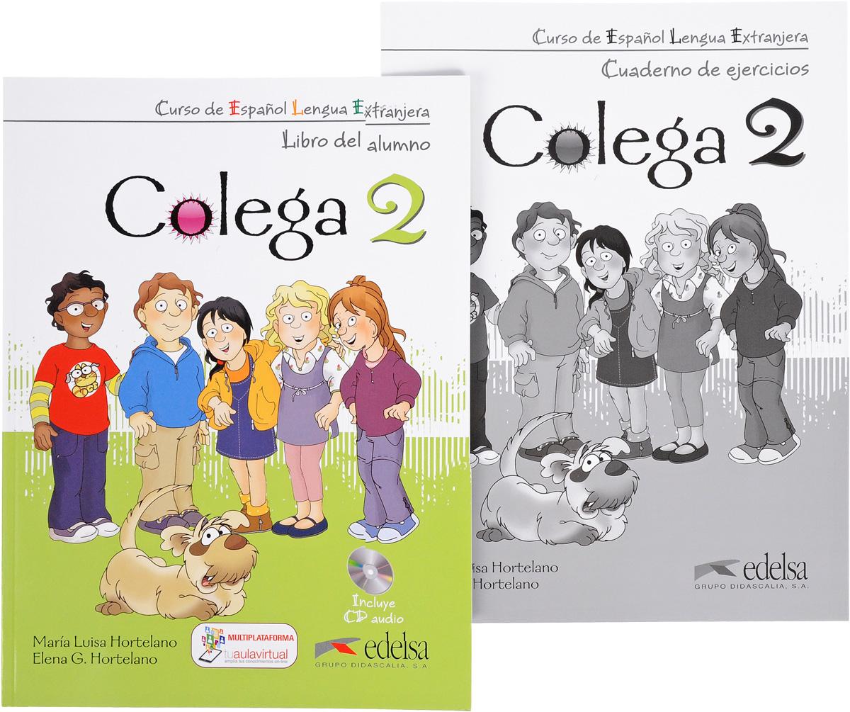 Colega 2: Libro Del Alumno. Cuaderno De Ejercicios (комплект из 2 книг + CD) libro de ejercicios m 2 audio cds