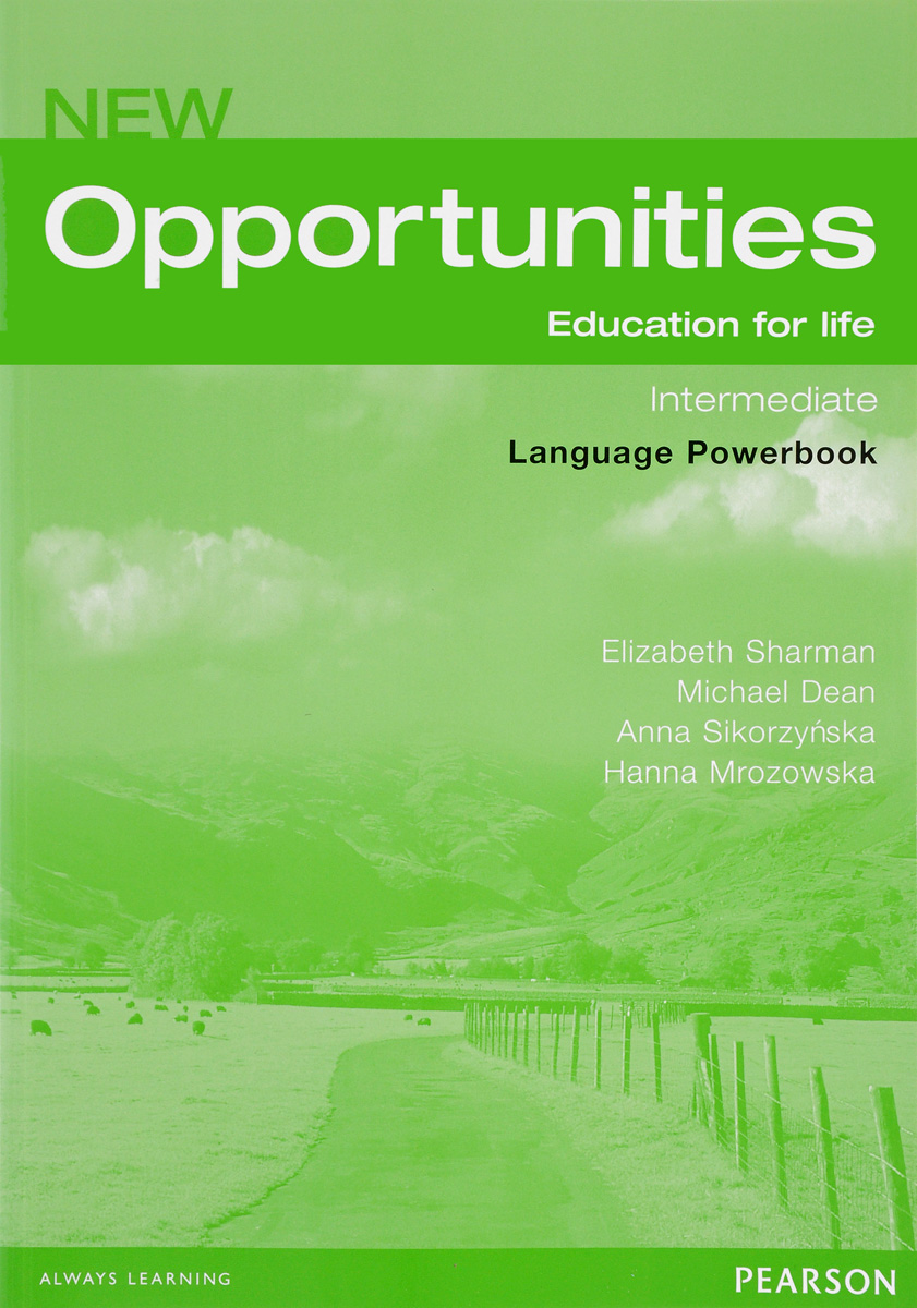 New Opportunities: Intermediate: Language Powerbook (+ CD-ROM) total pet skills