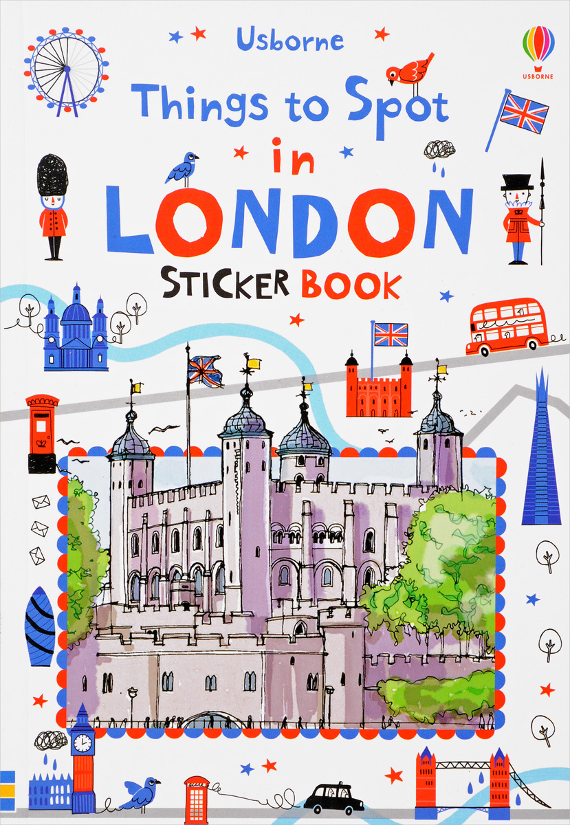 Things to Spot in London: Sticker Book first sticker book cities of the world