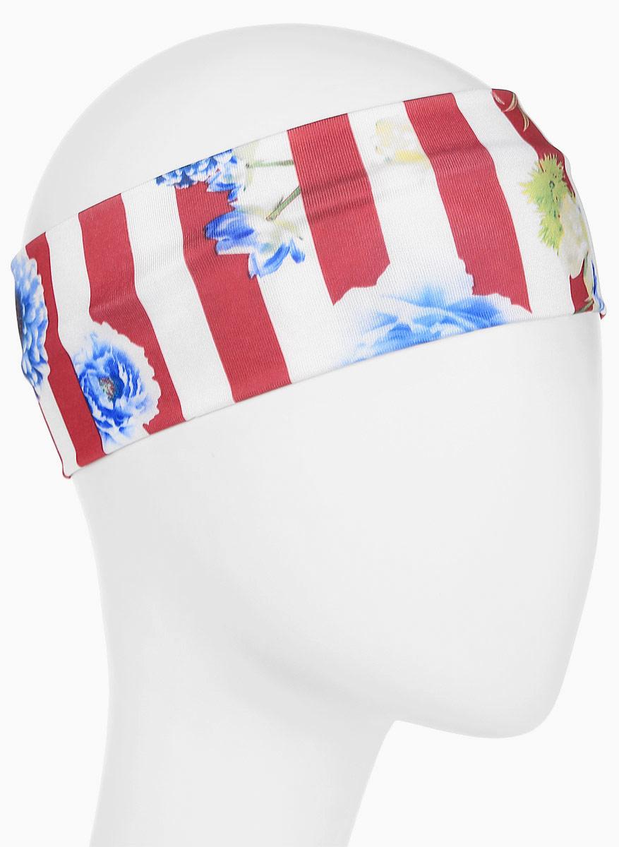 Повязка для волос Mitya Veselkov Шарм, цвет: красный. 1636617-41636617-4Стильная женская повязка Mitya Veselkov изготовлена из текстиля. Симпатичный аксессуар защитит голову от яркого солнца или возьмет на себя функцию ободка. Повязка не сдавливает голову и превосходно тянется.