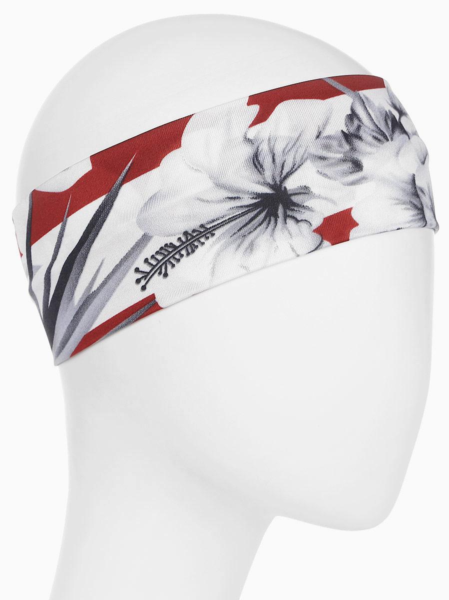Повязка для волос Mitya Veselkov Шарм, цвет: серый, красный. 1636622-11636622-1Стильная женская повязка Mitya Veselkov изготовлена из текстиля. Симпатичный аксессуар защитит голову от яркого солнца или возьмет на себя функцию ободка. Повязка не сдавливает голову и превосходно тянется.