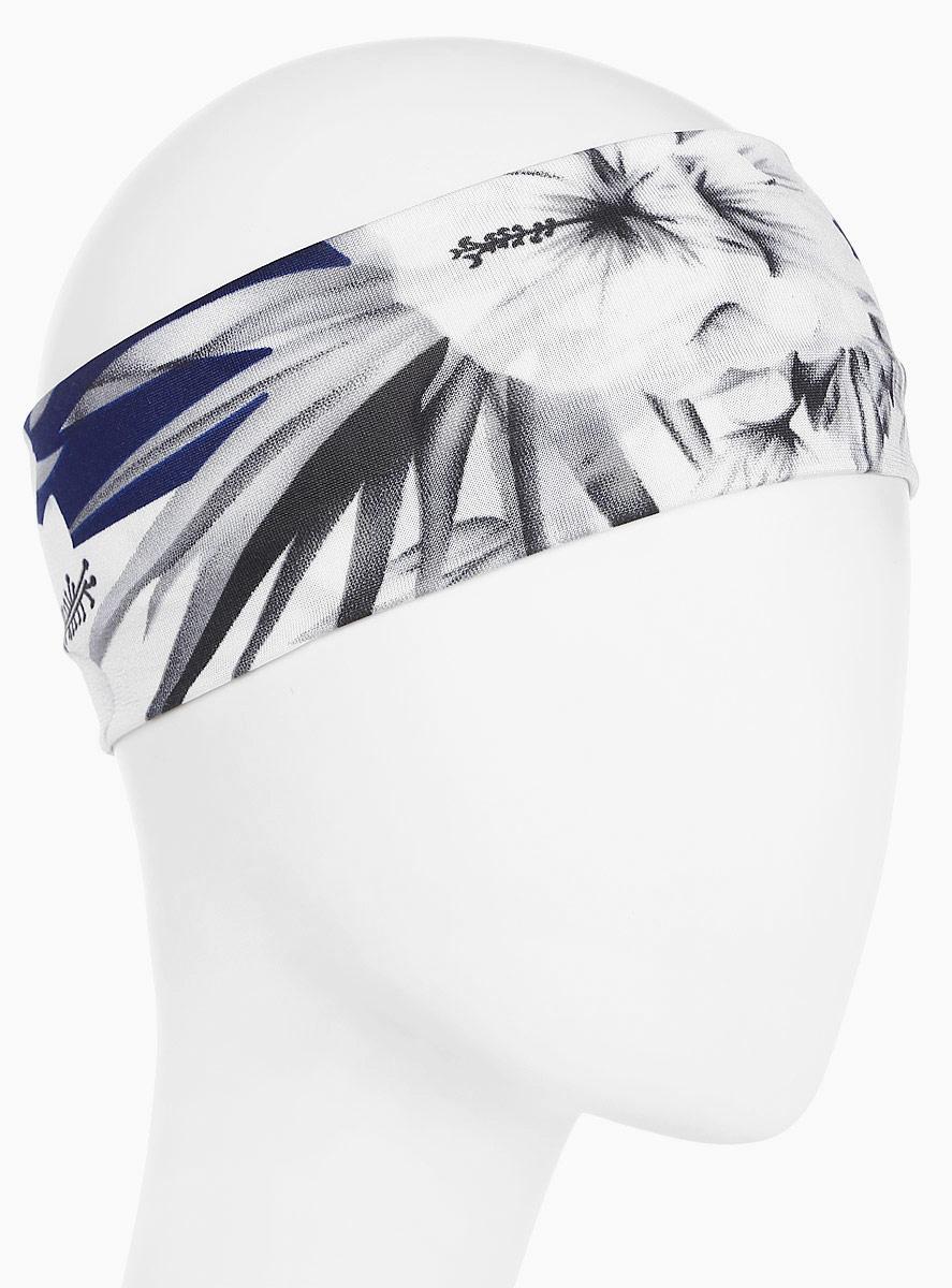 Повязка для волос Mitya Veselkov Шарм, цвет: темно-синий. 16366221636622Стильная женская повязка Mitya Veselkov изготовлена из текстиля. Симпатичный аксессуар защитит голову от яркого солнца или возьмет на себя функцию ободка. Повязка не сдавливает голову и превосходно тянется.