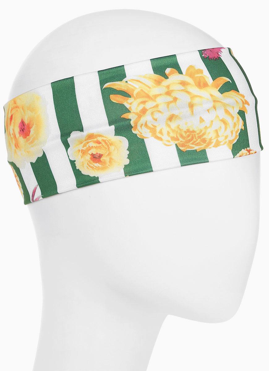 Повязка для волос Mitya Veselkov Шарм, цвет: зеленый. 1636617-31636617-3Стильная женская повязка Mitya Veselkov изготовлена из текстиля. Симпатичный аксессуар защитит голову от яркого солнца или возьмет на себя функцию ободка. Повязка не сдавливает голову и превосходно тянется.