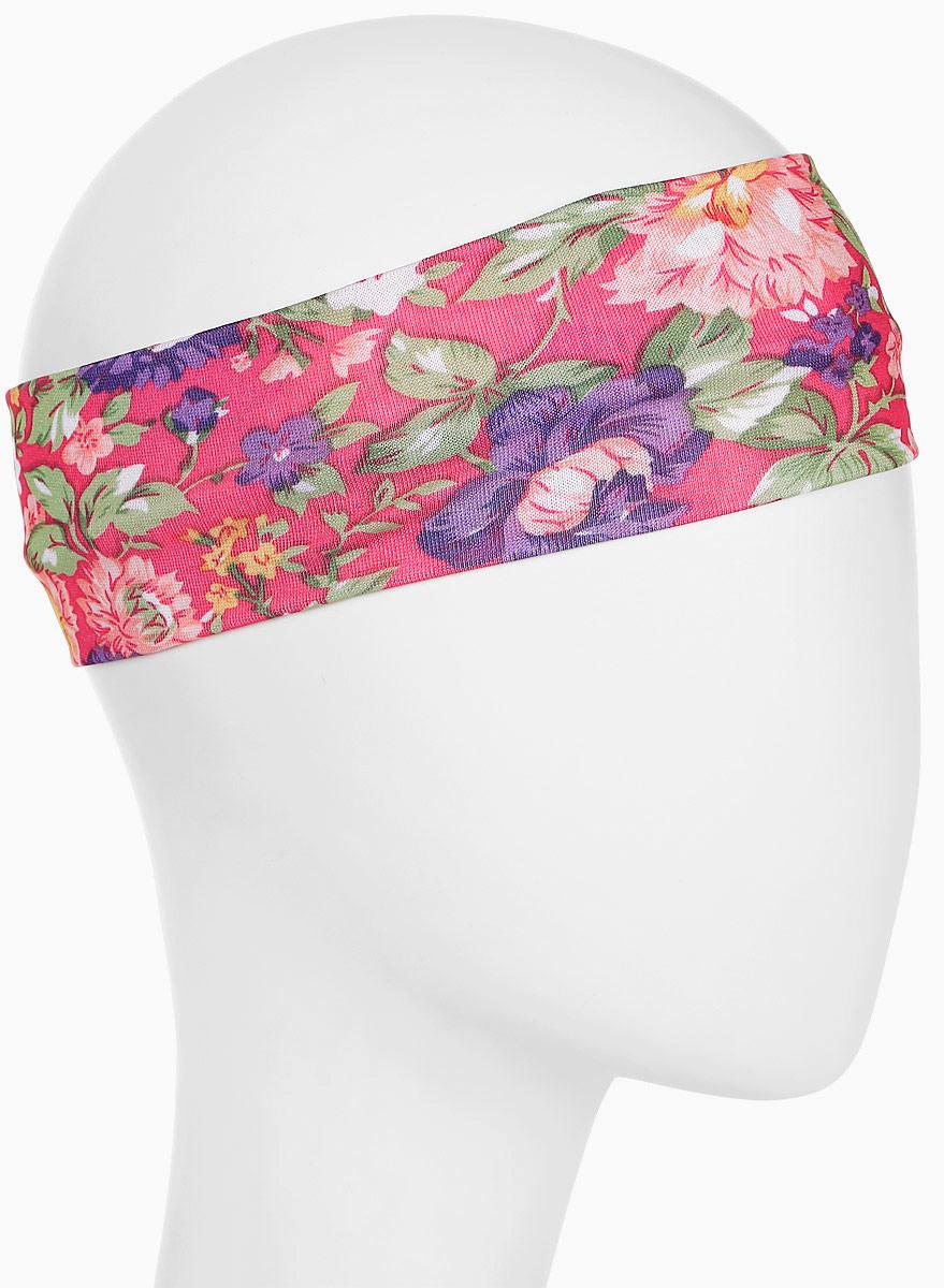 Повязка для волос Mitya Veselkov Шарм, цвет: розовый. 16366161636616Стильная женская повязка Mitya Veselkov изготовлена из текстиля. Симпатичный аксессуар защитит голову от яркого солнца или возьмет на себя функцию ободка. Повязка не сдавливает голову и превосходно тянется.