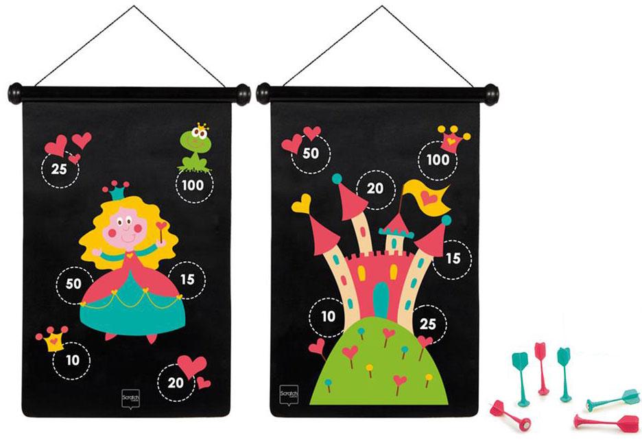 Scratch Обучающая игра Darts Принцесса -