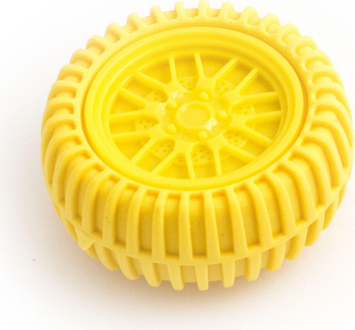 Эврика Точилка Колесо цвет желтый91677Шина является ластиком. Размеры упаковки: 12х9х2 см. Размеры точилки-колеса: 5.5х2 см.